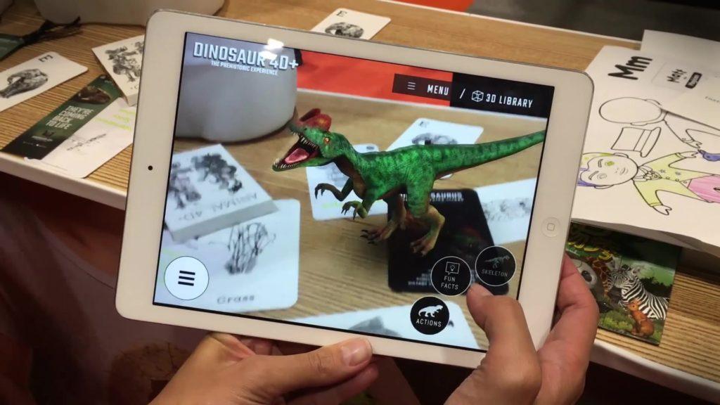 Augmented reality using iPad