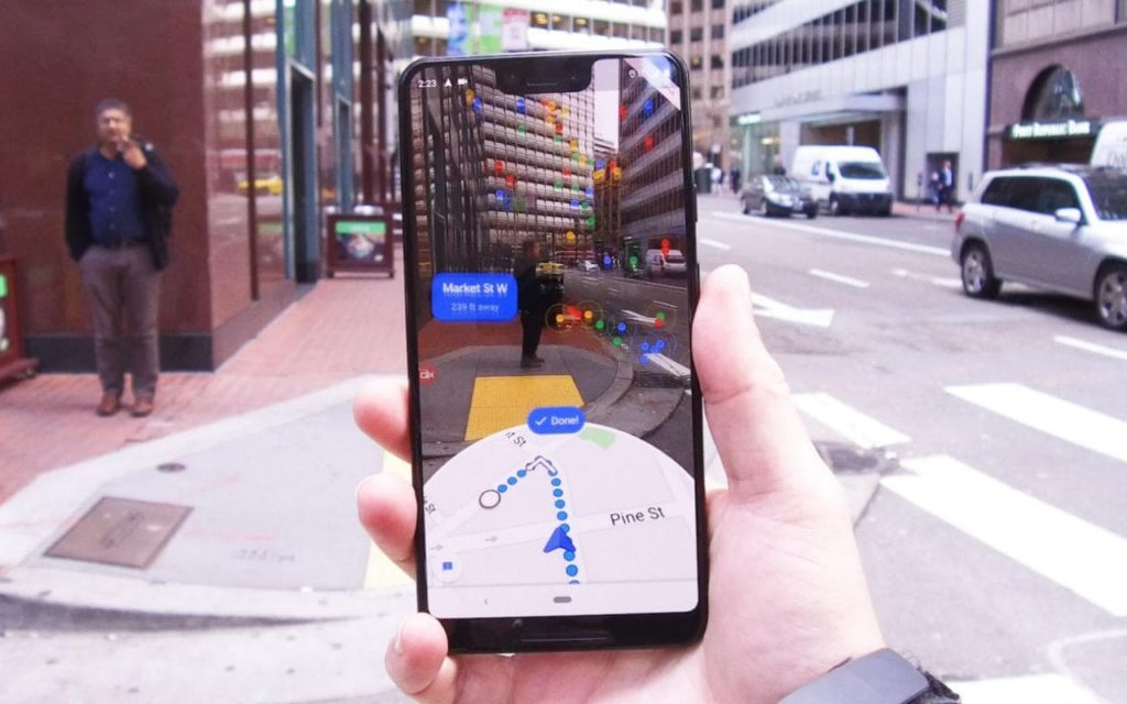 Using Augmented Reality For Navigation