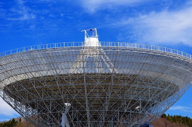 Radio Telescope To Explore Space
