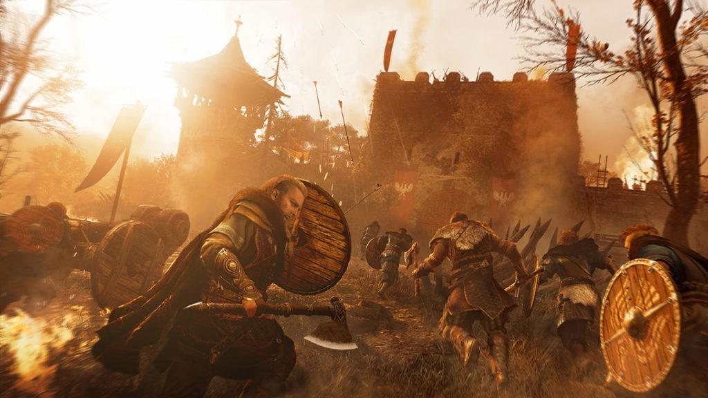 Assassin's Creed Valhalla Assault Against Rued