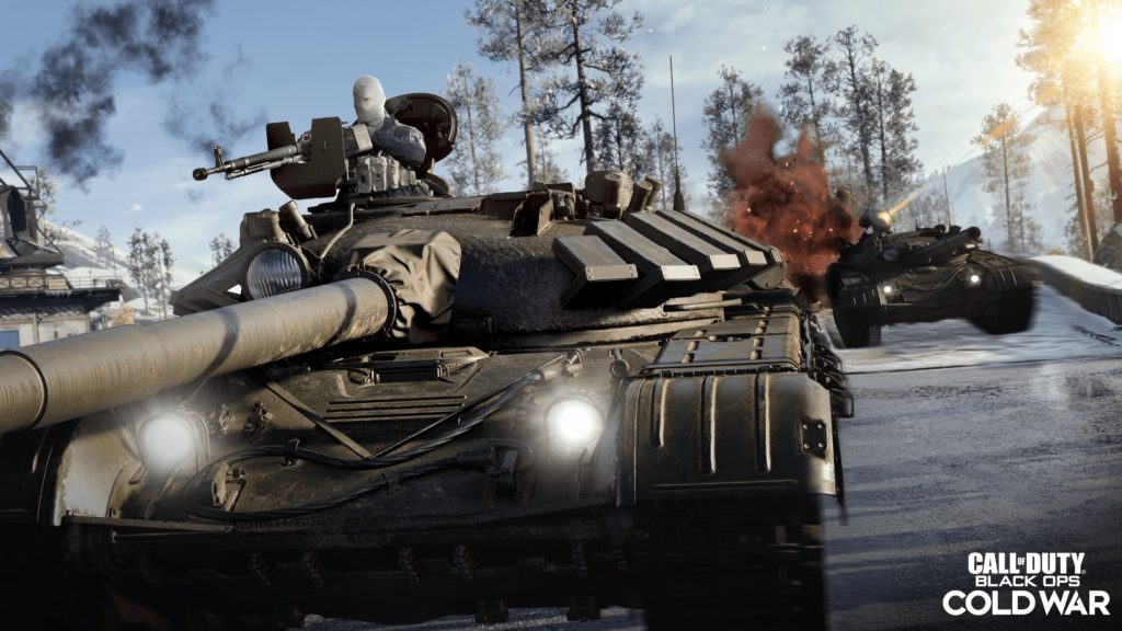 Call Of Duty T-72 Tank
