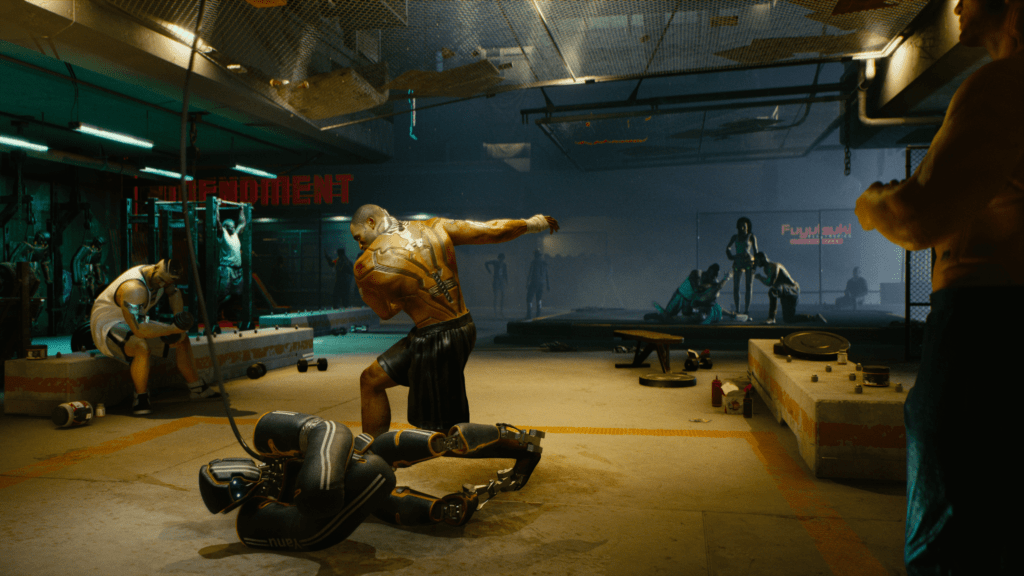 Intense Grueling Combat Courtesy of Body Modifications Cyberpunk 2077