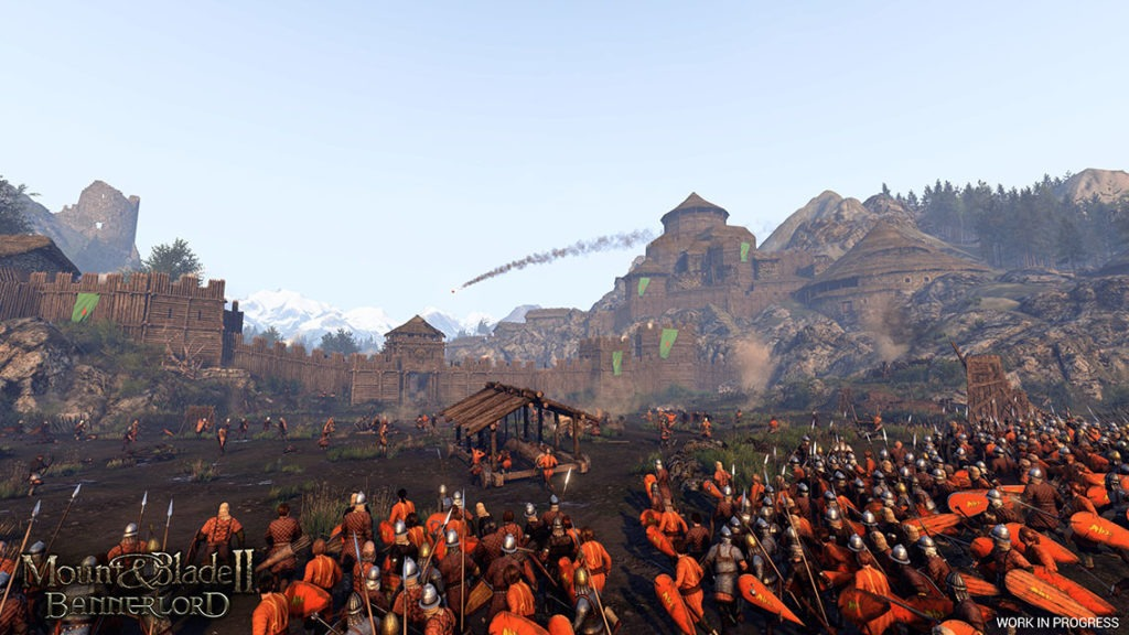 Full Army Combat in Mount & Blade II: Bannerlord
