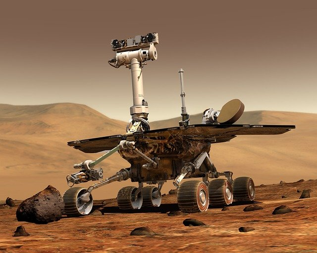 Rover Curiosity: robotics and AI