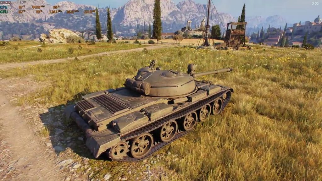 World Of Tanks Tier X Tank