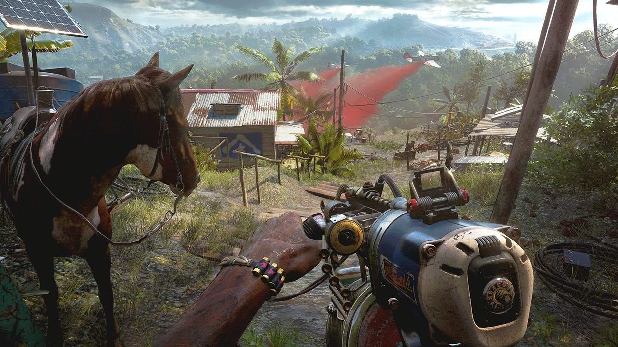Far Cry 6 Scenery And Cool Weapon