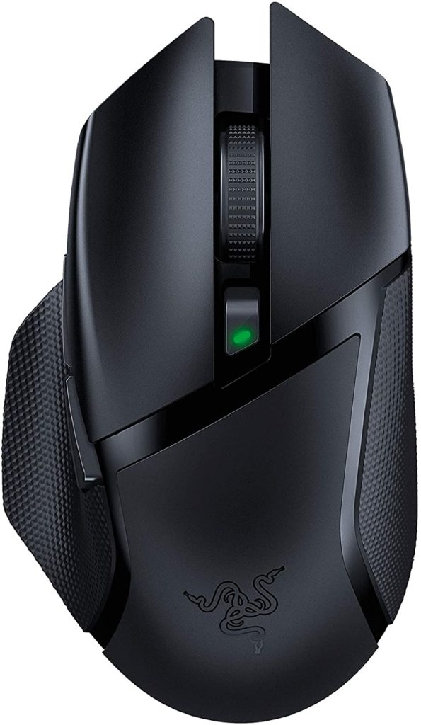 Razer Basilisk X Hyperspeed Gaming Mouse for laptops and PC.