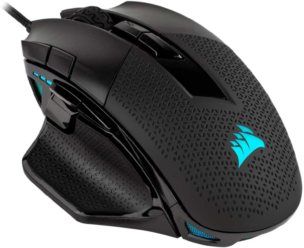 Corsair Nightsword Optical Gaming Mouse (Black) Best Value Gaming Mouse 2020