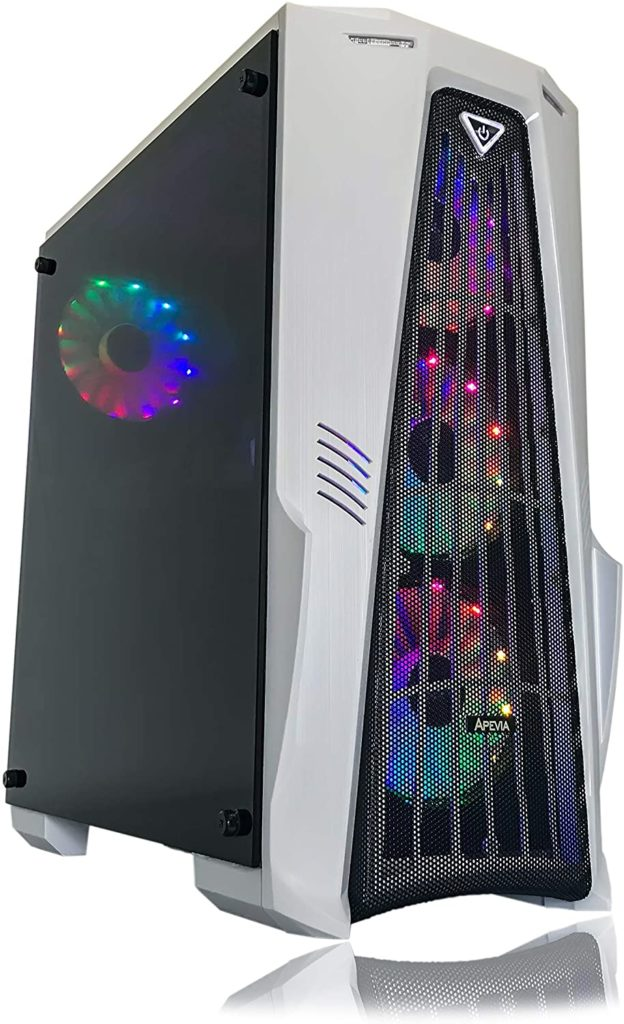 Gaming PC Desktop Computer by Alarco (White) Best Budget Gaming PC 2020