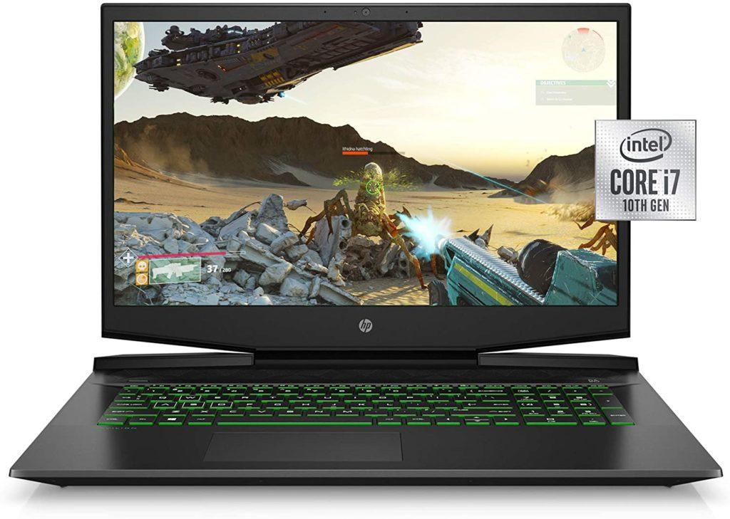 """HP Pavilion 17"""" Gaming Laptop (Shadow Black) Best Gaming Laptop 2020"""