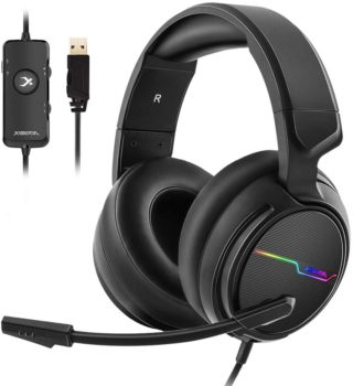 Jeecoo Xiberia Pro Gaming USB Headset With RGB Lighting Best Value Gaming Headset 2020
