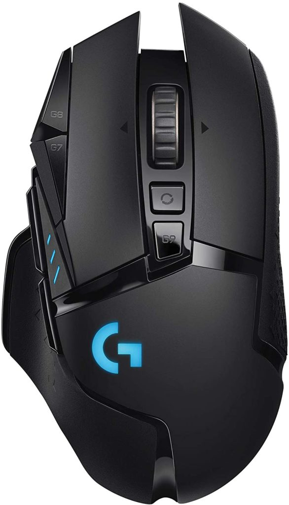 Logitech G502 Lightspeed Wireless Gaming Mouse (Black) Best Gaming Mouse 2021