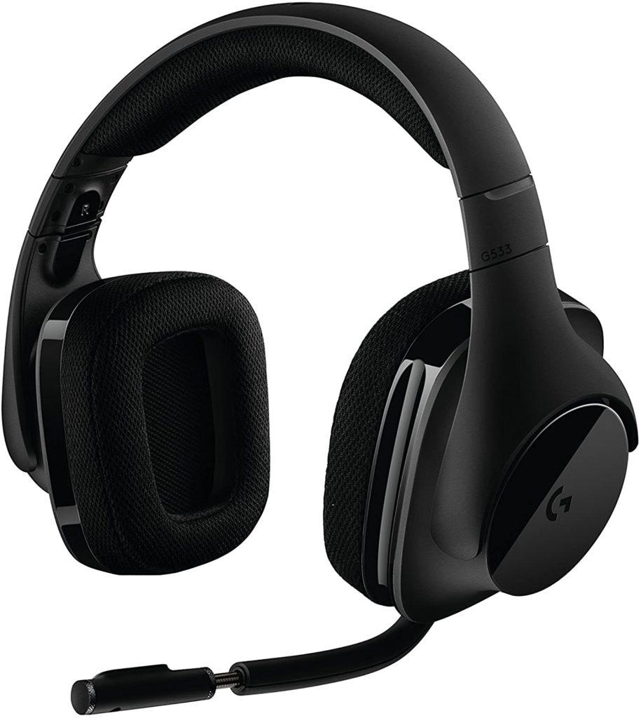 Logitech G533 Wireless Gaming Headset Best Gaming Equipment 2020 Headset 1