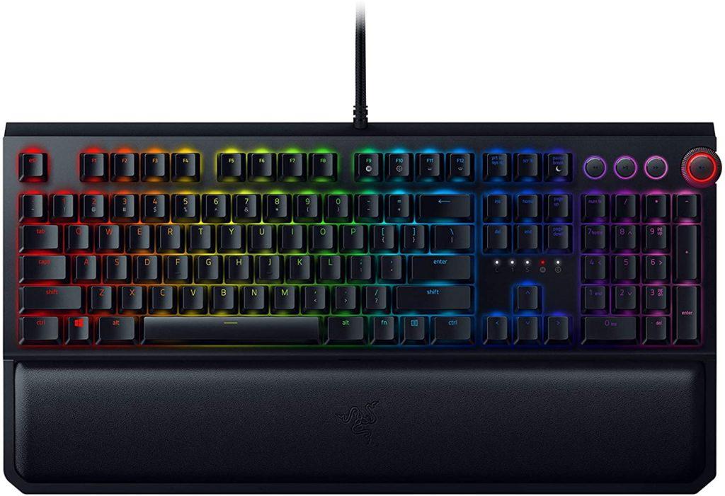 Razer Black Widow RGB Mechanical Gaming Keyboard Best Value Gaming Keyboard 2020