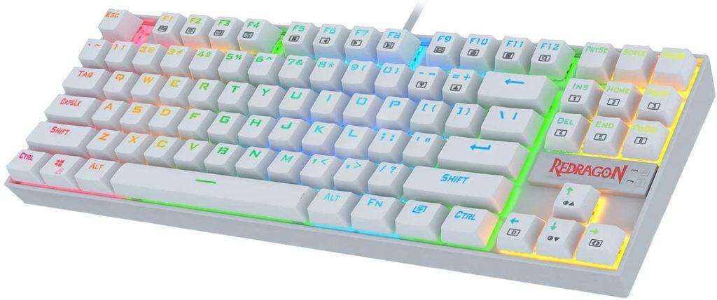 Redragon K552 Mechanical Gaming Keyboard (RGB Backlit White) Best Value Gaming Keyboard 2020