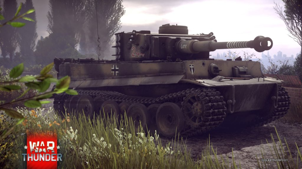 War Thunder Tiger I German Tank