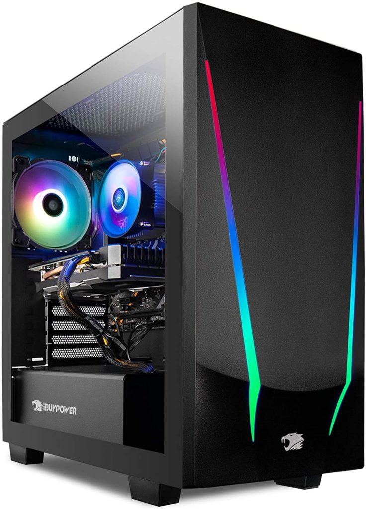 iBUYPOWER Gaming PC Computer Desktop Trace 4 Best Value Gaming PC 2020