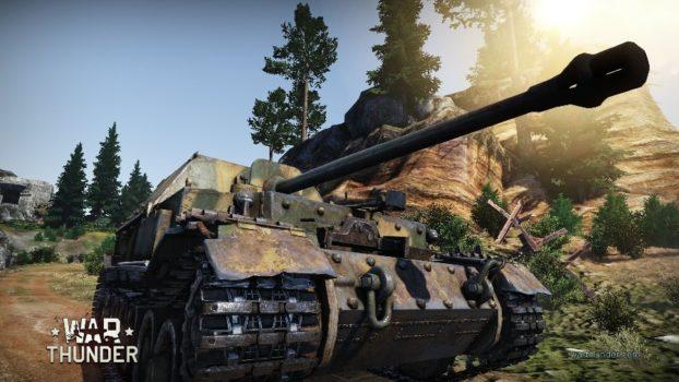 World Of Tanks VS War Thunder Ferdinand Tank Destroyer