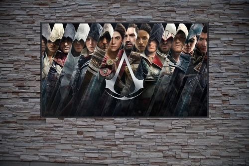 Assassin Brotherhood Custom Gaming Frame Art