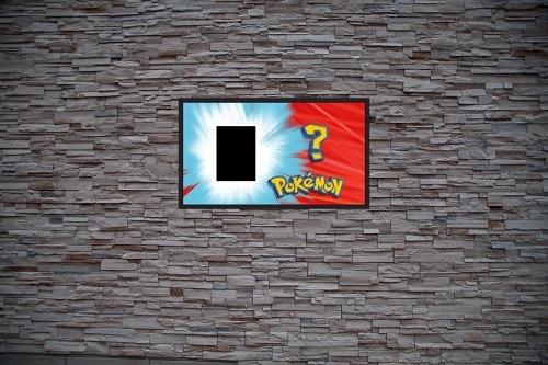 Pokémon Art Custom Gaming Frame Art