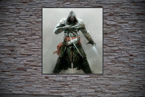 Ezio Auditore Da Firenze Custom Gaming Frame Art