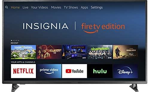 "Best Budget 4K TV Insignia 32"" Smart HD TV - Fire TV Edition"