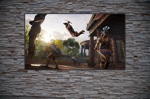 Leap Of Death Custom Gaming Frame Art