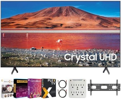 "Best Value 4K TV SAMSUNG UN50TU7000 50"" 4K Ultra HD Smart LED TV"