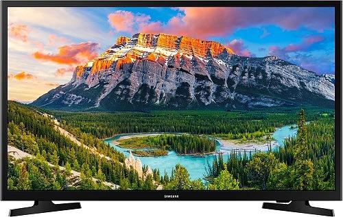 """Best Budget 4K TV Samsung Electronics 32"""" 1080p Smart LED TV, Black"""
