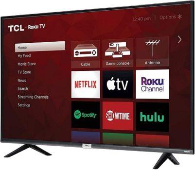"""Best Budget 4K TV TCL 43"""" 4K Smart LED TV"""