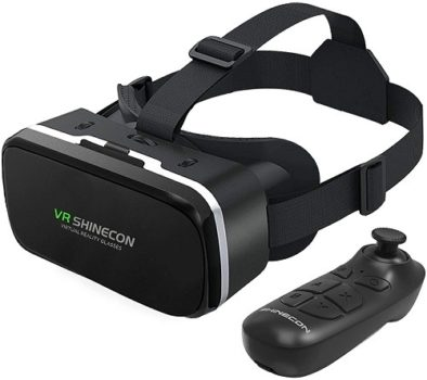 Best Budget VR Headset 2021 VR With Remote Controller 3D Glasses Goggles HD Virtual Reality Headset