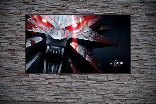 Wild Hunt Wolf Custom Gaming Frame Art