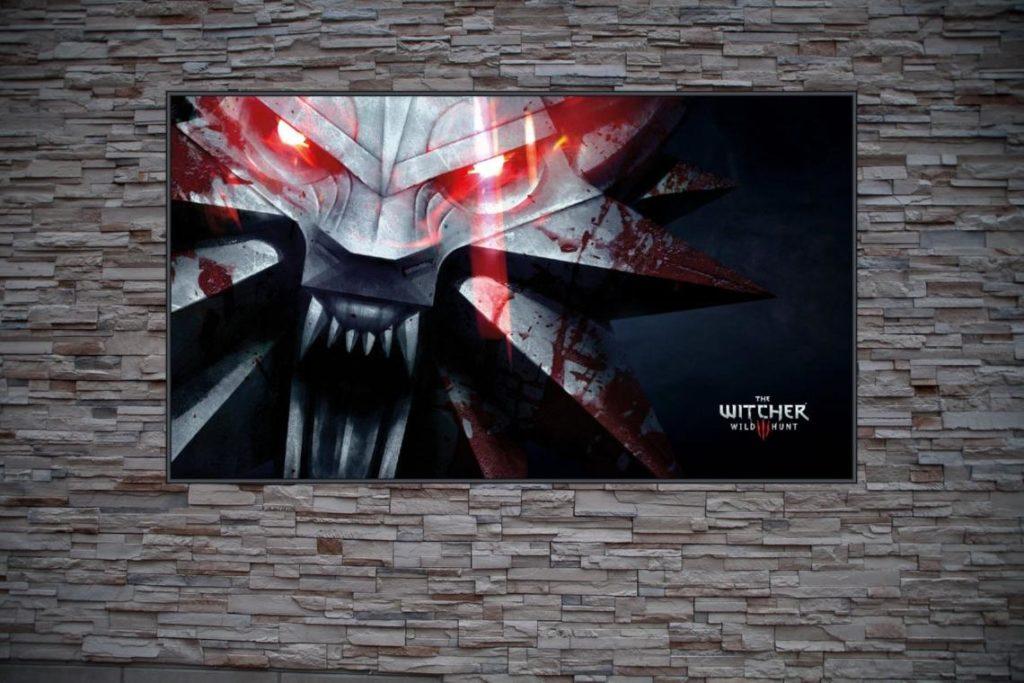 Best Custom Frame Art For The Witcher Fans Wild Hunt Wolf Logo Custom Poster