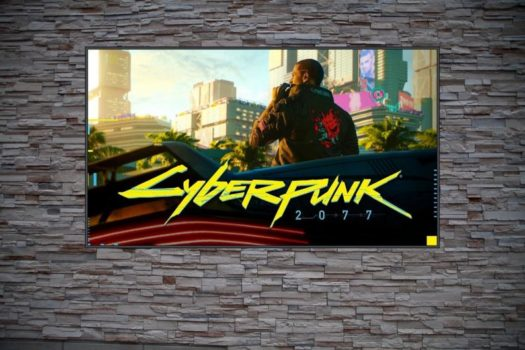 background on V cyberpunk 2077 frame art