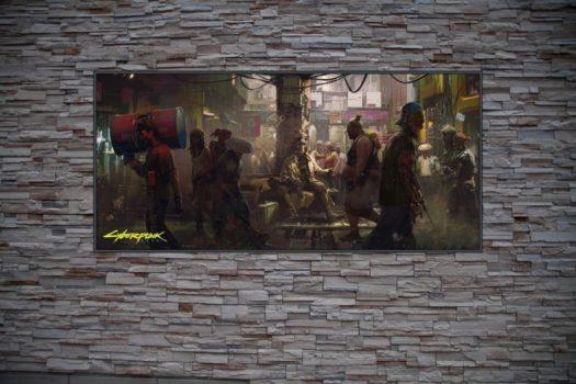 frame art cyberpunk 2077 black market