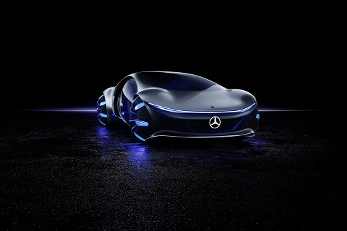 Latest Mercedes Benz Showcar At CES Is An Avatar-Inspired Spectacle