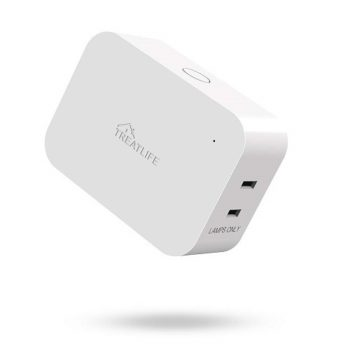Best Smart Home Devices To Own In 2021 6. Treatlife Smart Dimmer Plug For Dimmable Lamps That Works With Alexa, Google Assistant, And SmartThings