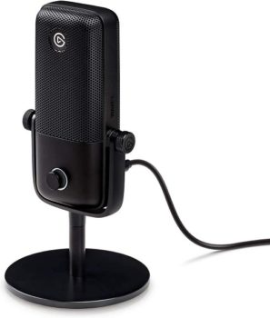 Best Microphone 2021 Elgato Wave:1 Premium USB Condenser Microphone and Digital Mixing Solution For Streaming And Podcasting