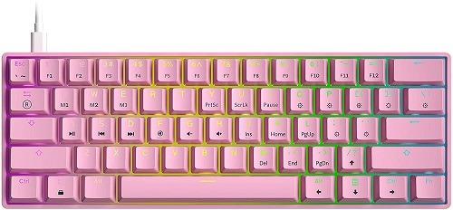 Gaming Keyboards GK61 Mechanical Gaming Keyboard 2021