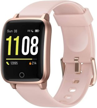Best Smart Home Devices To Own In 2021 6. Letsfit Smart Watch, IP68 Waterproof Calorie Counter Sleep Monitor For Men & Women