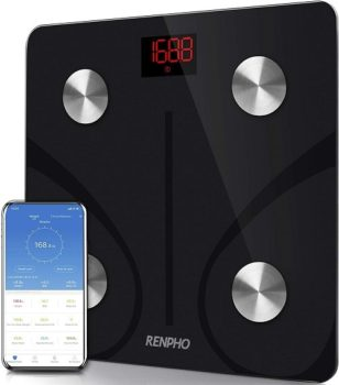 Best Smart Home Devices To Own In 2021 7. RENPHO Body Fat Scale Smart Digital Scale Wireless Weight Scale With Bluetooth Sync - Black