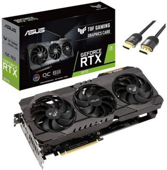 Graphics Cards 2021 Excellent 1440p Performance - ASUS TUF Gaming NVIDIA GeForce RTX 3070 OC Edition Graphics Card PCIe 4.0, 8GB GDDR6