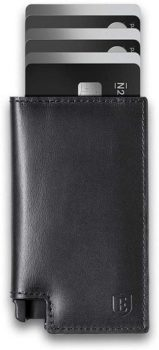 Top Fifty Gadgets Ekster Parliament - Slim Leather Wallet - RFID Blocking - Quick Card Access