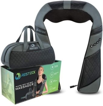 Top Fifty Gadgets Massagers for Neck and Back with Heat - Deep Tissue 3D Electric Shiatsu Back Neck and Shoulder Massage
