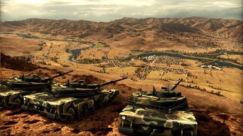 Wargame Red Dragon K1 Tanks on the Horizon