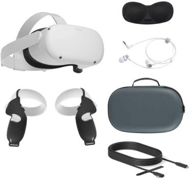 VR Controller 2020 Oculus Quest 2 All-in-One VR Headset (Complete Set)
