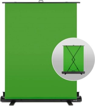 Wall Panels Elgato - Collapsible Chroma Green Screen Key Panel For Background Removal