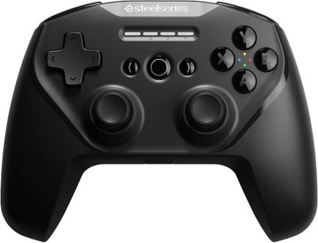 PC Controllers SteelSeries Stratus Duo Wireless PC Controller for Android, Windows, and VR – Dual-Wireless Connectivity – High-Performance Materials (Renewed)