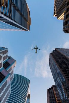 Future Aircraft In The City