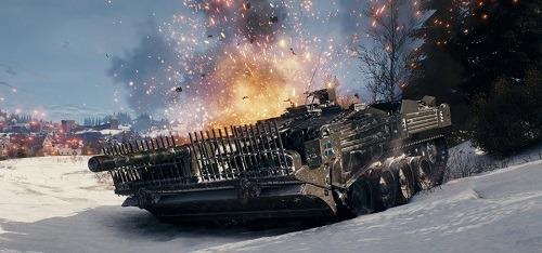 World Of Tanks Steam strv 103 tank destroyer